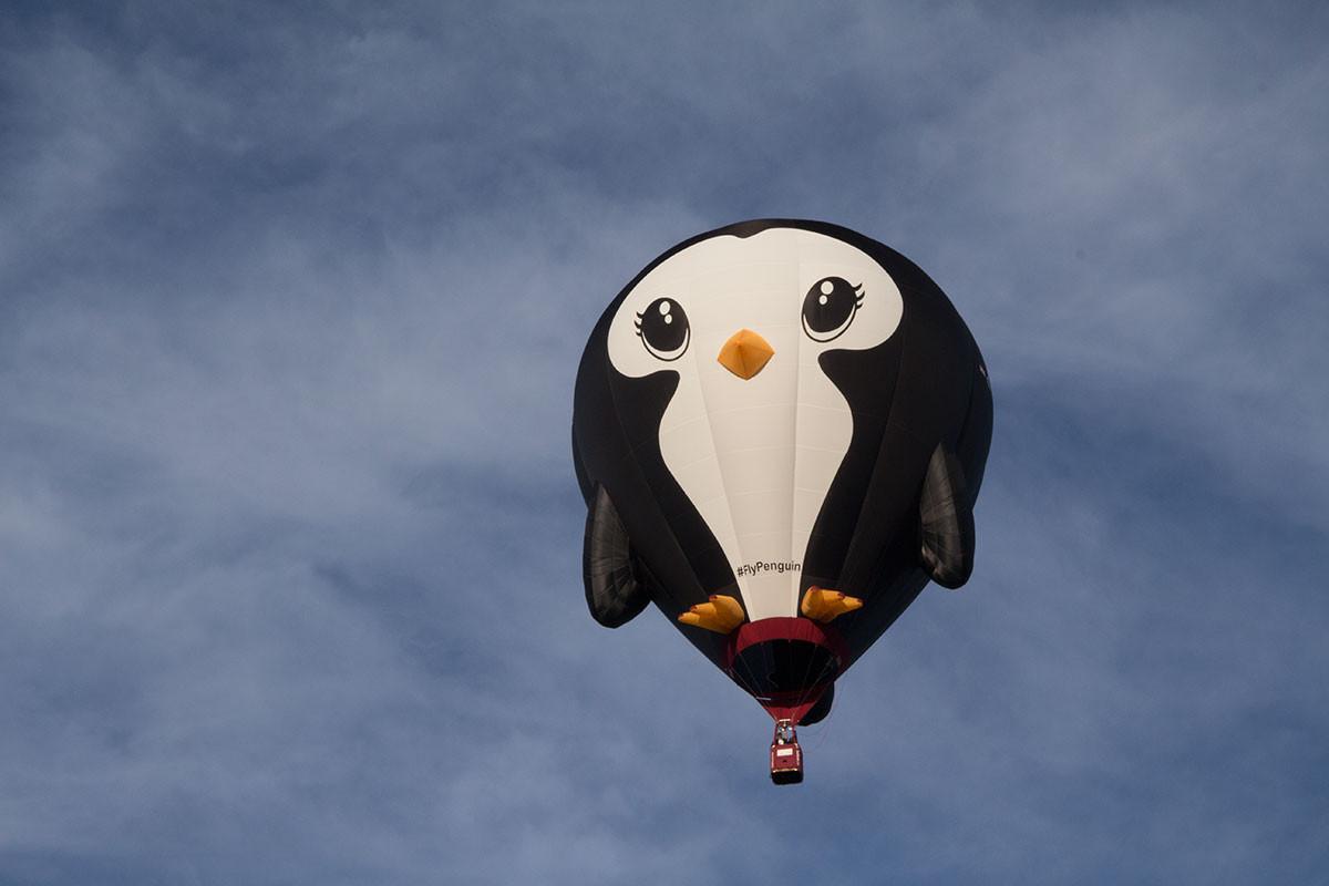 Penguin-balloon