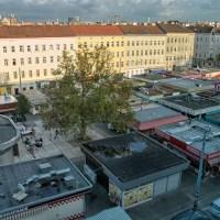 """Der """"Meidlinger Markt"""" in Wien von oben"""