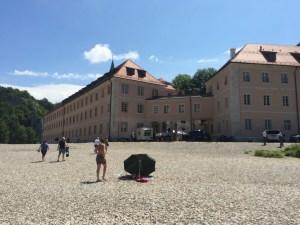 Weltenburg beach