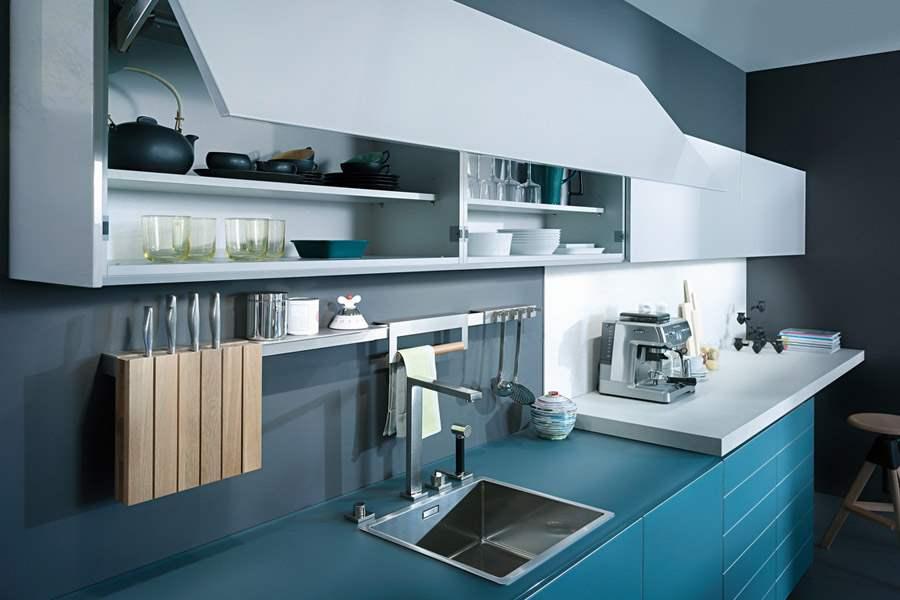 Glass Kitchen Cabinets in NYC - kitchen design stores