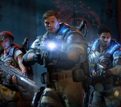 Gears of War 4 Characters JD Kait and Del
