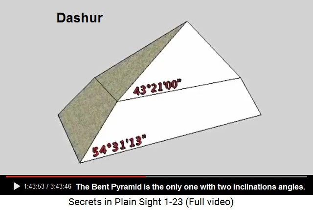 16 Great Pyramid of Giza, moon+Earth 711, 345, 113 -- 17 St