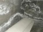 Aparición de   salitre en paredes