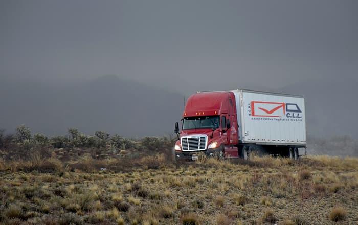 Camión Cooperativa Logística Levante CLL