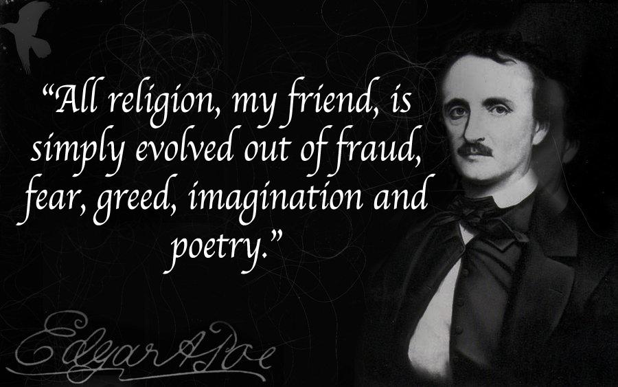 Edgar Allan Poe Quotes Wallpaper Es Falso Que Poe Padre Del Cuento De Terror Fuese Ateo