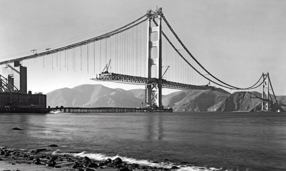 Golden Gate Bridge Construction Photo - Get A Look At This