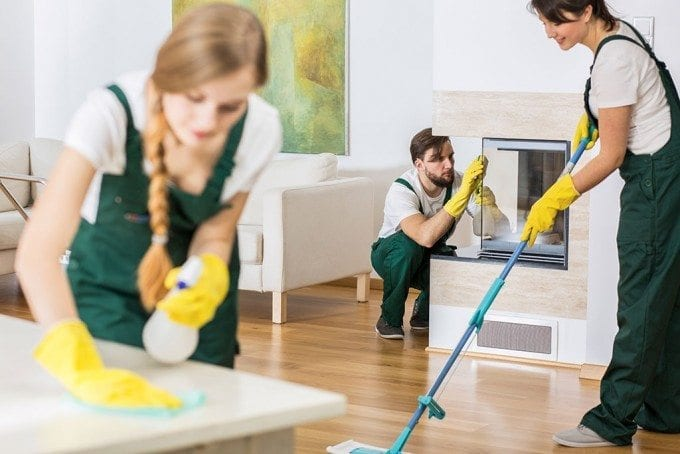 Cleaning Services Make Sure Your Home Is Spic-And-Span For A Move