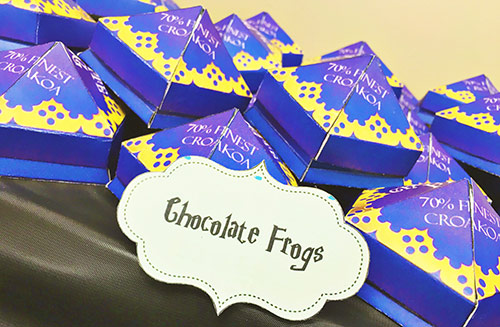 Harry Potter Chocolate Frogs Tutorial and Free Printables