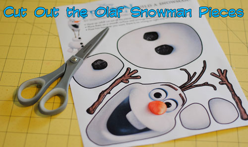 Frozen Inspired Party Game - Free Printable from Get Away Today