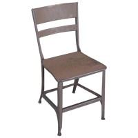 Original, Vintage Industrial, Toledo Metal Dining Chair ...