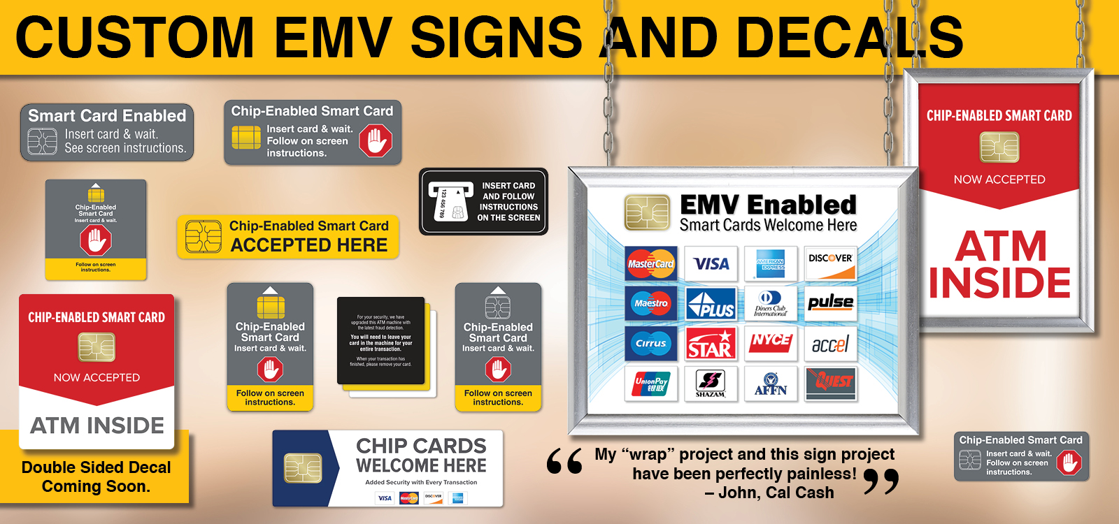 Emv Decals