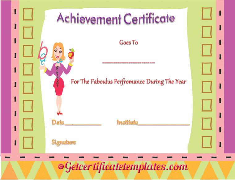 make awards certificates