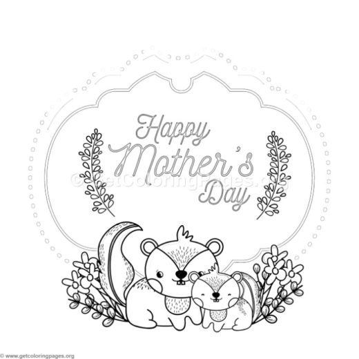 mothers day coloring card template \u2013 GetColoringPagesorg