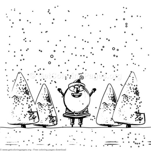 20 christmas cards to colour \u2013 GetColoringPagesorg