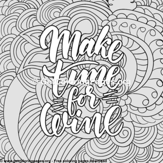 free printable quote coloring pages for adults \u2013 GetColoringPagesorg