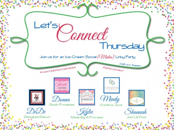 Let's Connect Thursday-Facebook link party