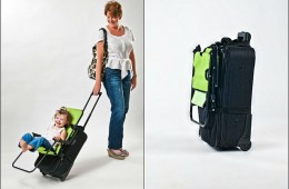 Ride-On Carry-On Travel Child Seat