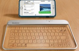 Wireless Glass Keyboard is the Keyboard of the Future