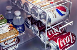 Beverage Dispenser is the Perfect Space-Saving Accessory for your Fridge