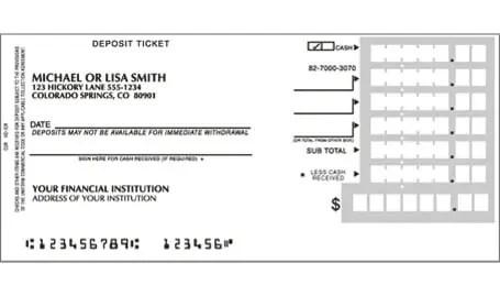 deposit slip printable - Pinephandshakeapp