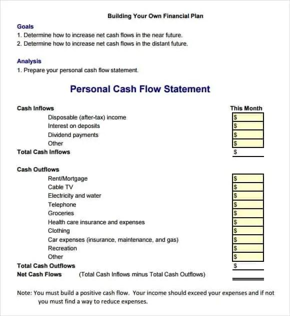 9+ Cash Flow Excel Templates - Excel Templates