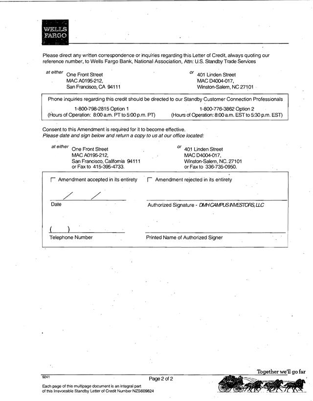 Irrevocable Letter Of Credit Iloc Investopedia Neurocrine Biosciences Inc Form 8 K Ex 993 Letter