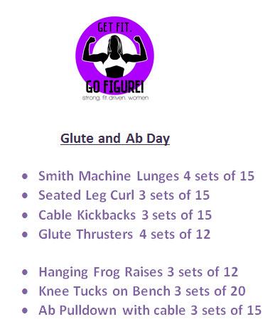 Glut and Ab Day