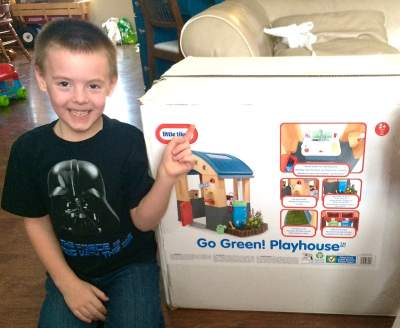 Little Tikes Is Making Going Green Fun For Kids!!