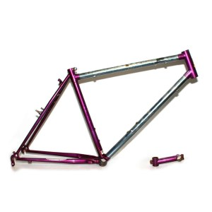 Raleigh M-Trax Purple Frame & Stem