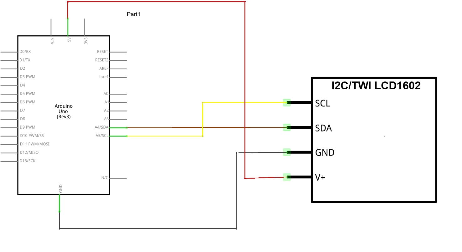 Awe Inspiring Wiringpi I2C Lcd 1602 Auto Electrical Wiring Diagram Wiring 101 Cominwise Assnl
