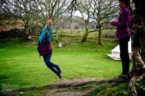 Campsites with Rope Swings are always a favourite