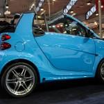 smart Brabus blue