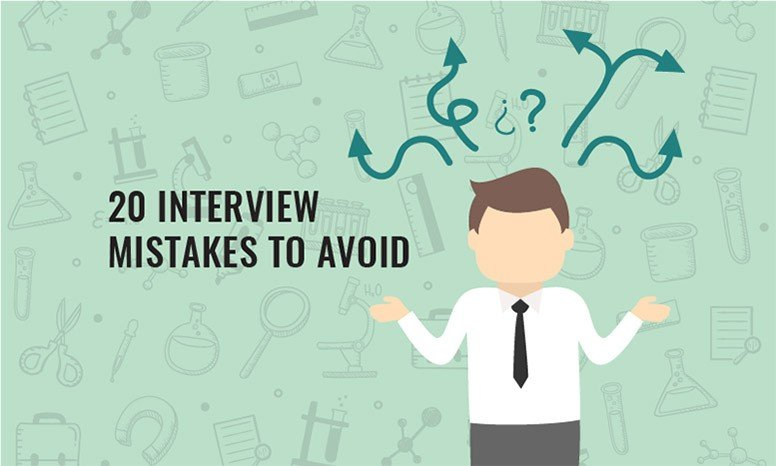 Job Interview Tips for Pharma 20 Common Mistakes You Should Avoid!