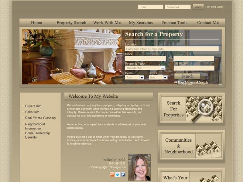 Smart Sites Real Estate Agent Templates GetSmartSites - neighborhood website templates