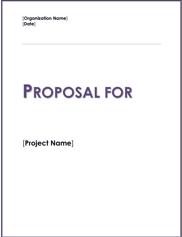 How To Write A Proposal Letter For A Fundraiser – Fundraiser Proposal Template