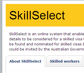 The Australian Immigration Department has just launched their skillselect website which is available at www.skillselect.gov.au.