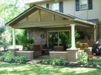 Covered Patio Roof Addition in Carmel, IN - Gettum ...