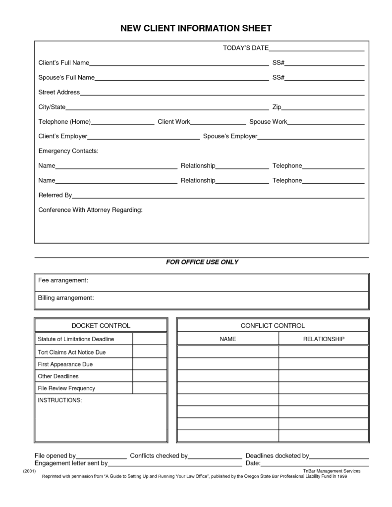 ... Information Sheet Template Word  Personal Information Template