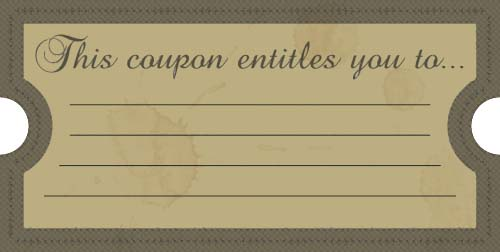 11+ Free Coupon Templates - Word Excel PDF Formats - blank vouchers template