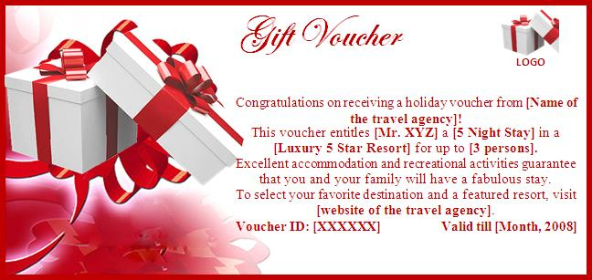 8+ Gift voucher templates - Word Excel PDF Formats - gift voucher template word