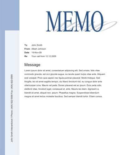 memo online