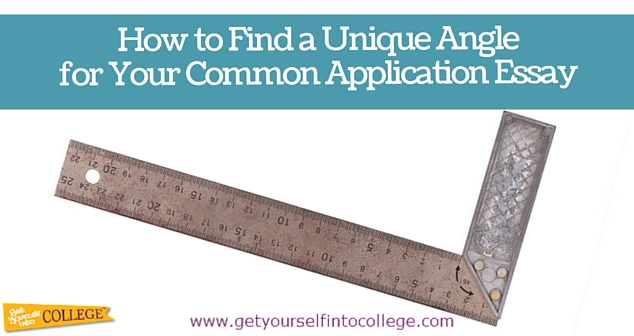 Common application essays that worked