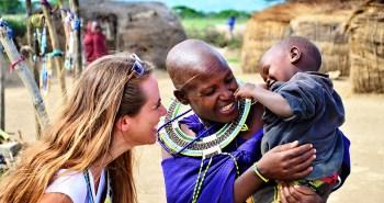 Buse Aganday-Tanzanya Masai Köyü