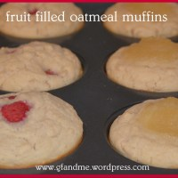 fruit filled gluten free oatmeal muffins - keep them on hand for a quick breakfast