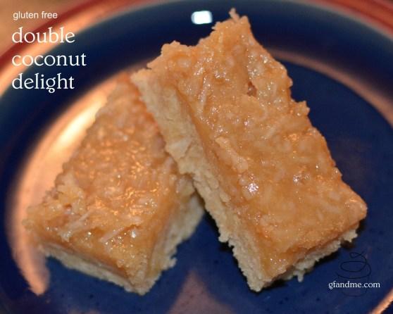 double coconut delight. gfandme.com