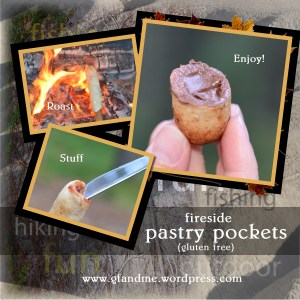 gluten free campfire pastry pockets