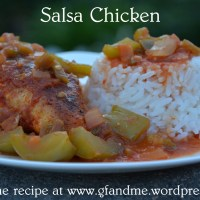 salsa chicken: high on flavour, low on calories