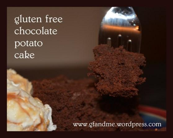 gluten free chocolate potato cake
