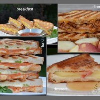 breakfast, lunch, dinner & dessert panini - gluten free, of course