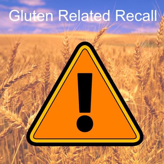 Gluten Recall